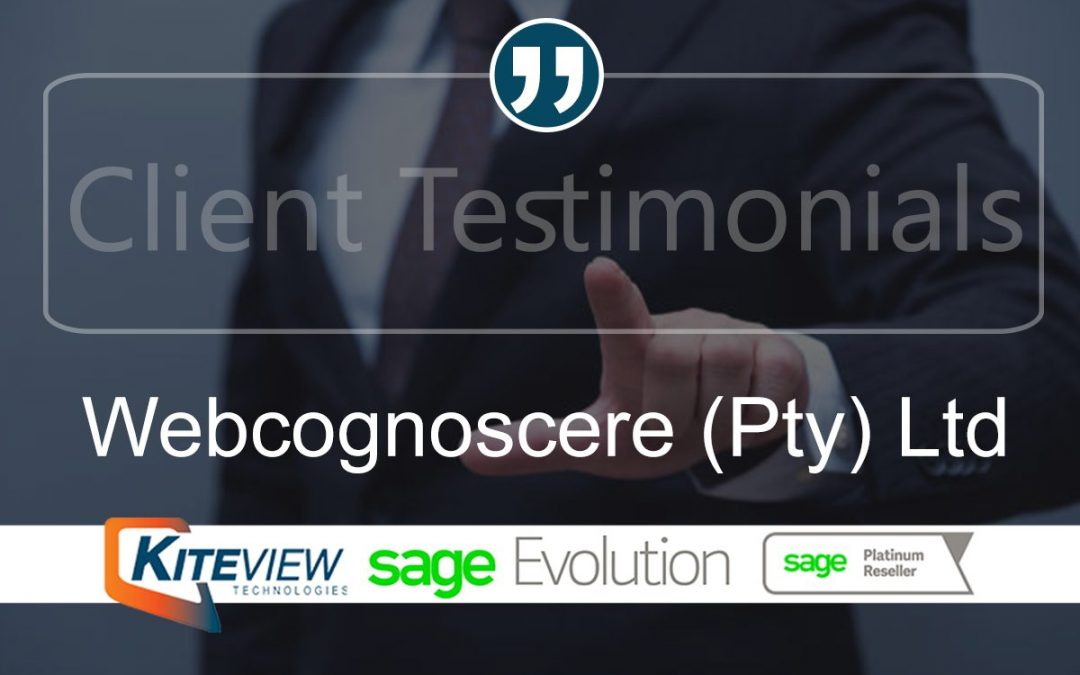 Client Testimonial – Webcognoscere