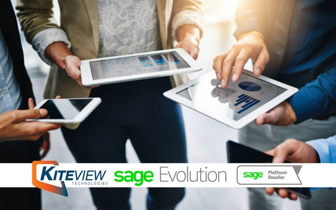 Sage Evolution Mobile App Add-On Module | Kiteview Technologies
