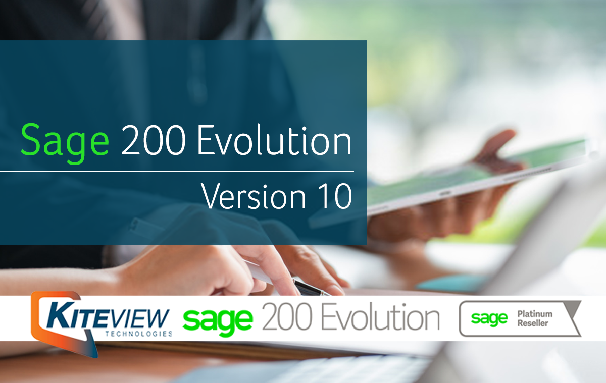 Sage 200 Evolution Version 10 Enhancements