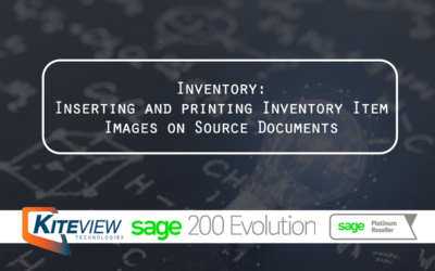 Inventory – Inserting and printing Inventory Item Images on Source Documents