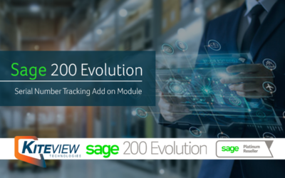 Sage 200 Evolution's Serial Number Tracking Add On Module